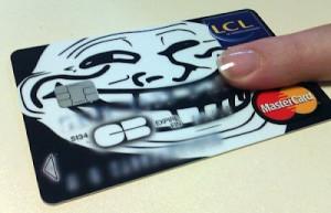 Кредитная карта для людей с хорошим чувством юмора
